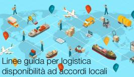 Linee guida per logistica e disponibilità ad accordi locali