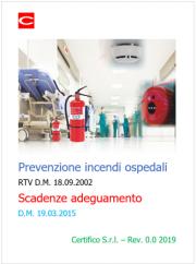 Prevenzione incendi ospedali | Scadenze adeguamento