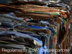 Regolamento (EoW) carta e cartone