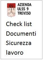 Check list Documentazione sicurezza lavoro