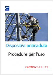 Dispositivi anticaduta: procedura uso e verifica