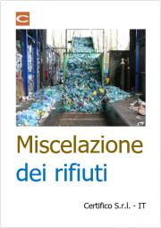 Miscelazione dei rifiuti