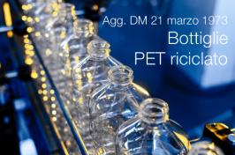 Schema Regolamento agg. DM 21 marzo 1973 | Bottiglie PET riciclato