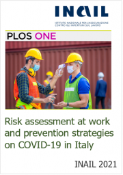 Risk assessment at work and prevention strategies on COVID-19 in Italy