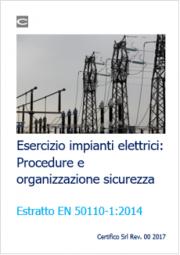 Esercizio impianti elettrici: Procedure e organizzazione sicurezza EN 50110-1