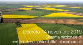 Decreto 14 novembre 2019