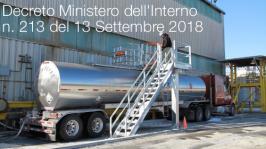 Decreto 213 del 13 Settembre 2018