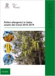 Pollini allergenici in Italia: analisi dei trend 2010-2019