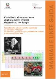 Contributo conoscenza elementi chimici funghi II volume