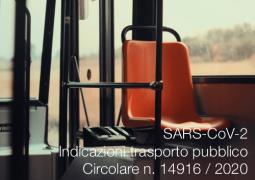 SARS-CoV-2 | Indicazioni trasporto pubblico collettivo terrestre