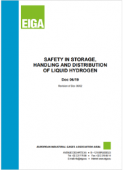 Safety in storage, handling and distribution of liquid hydrogen