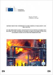 Prima relazione CE attuazione ed implementazione Direttiva Seveso III