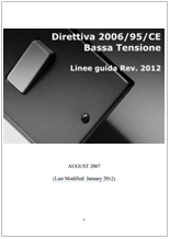 Guidelines on the application of Directive 2006/95/EC Rev. 2012
