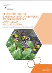 Metodologie e criteri di riferimento valutazione del danno ambientale
