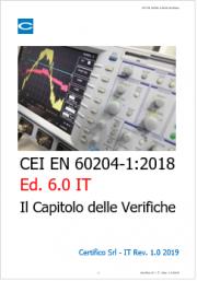IEC 60204-1:2016: le verifiche previste