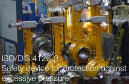 ISO/DIS 4126-3 | Safety devices for protection against excessive pressure