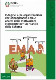 Indagine sulle organizzazioni che abbandonano EMAS
