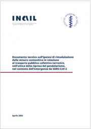 Documento tecnico INAIL trasporto pubblico collettivo terrestre