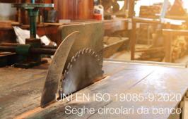 UNI EN ISO 19085-9:2020 | Seghe circolari da banco