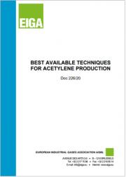 Best Available Techniques for Acetylene Production