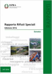 Rapporto Rifiuti Speciali Integrale - Edizione 2016