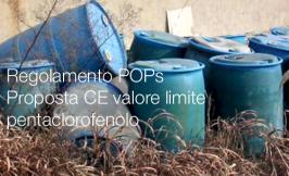 Regolamento POPs | Proposta CE valore limite pentaclorofenolo