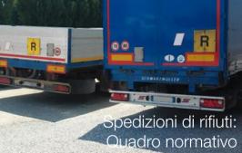 Spedizioni di rifiuti: Quadro normativo