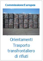 Orientamenti per i controlli doganali sulle spedizioni transfrontaliere di rifiuti
