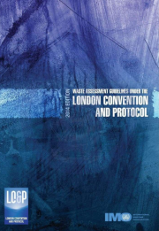 Waste Assessment Guidelines under the London Convention and Protocol