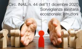 Circolare INAIL n. 44 dell'11 dicembre 2020