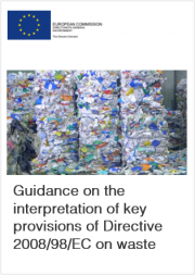 Guidance on the interpretation Directive 2008/98/EC on waste
