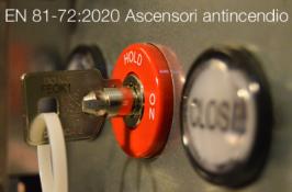 EN 81-72:2020 | Ascensori antincendio