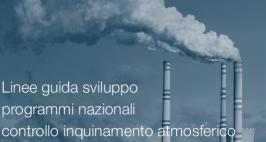Linee guida sviluppo programmi nazionali controllo inquinamento atmosferico