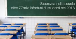 Sicurezza nelle scuole: oltre 77mila infortuni di studenti nel 2018
