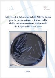 Report Attività ARPA Lazio controllo contaminazioni da legionellosi