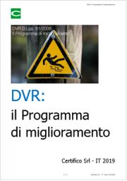DVR: Il Programma di miglioramento