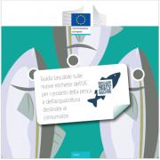 Guida nuove etichette prodotti della pesca destinate ai consumatori EU