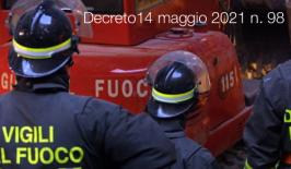 Decreto14 maggio 2021 n. 98