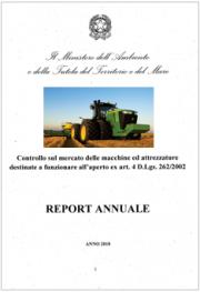 Report 2018 | Macchine e attrezzature OND