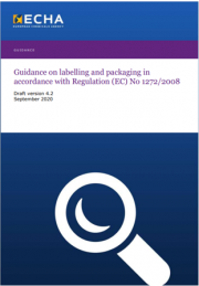 Guidance on labelling and packaging CLP | Version 4.2 2020 Draft