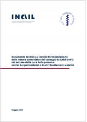 Documento tecnico rimodulazione misure SARS-CoV-2 settore cura della persona