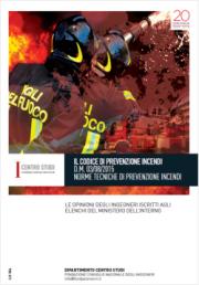 Indagine prevenzione incendi CNI 2019