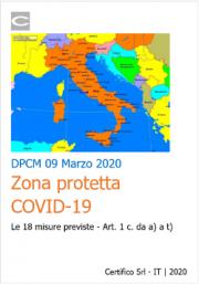 DPCM 9 marzo: Sintesi misure Zona protetta