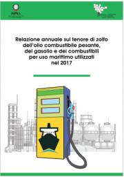Relazione annuale tenore zolfo olio combustibile, gasolio 2017