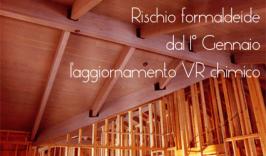 Rischio Formaldeide: il 1° Gennaio l'aggiornamento del VR Chimico - Parere UOOML BG