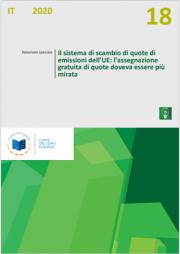 Relazione speciale 18/2020 Sistema di scambio di quote UE