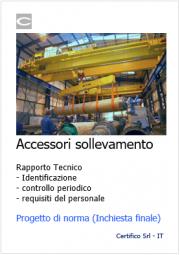 Accessori per il sollevamento: Progetto di norma U36002460
