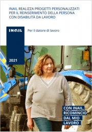 Reinserimento persone con disabilità da lavoro   INAIL 2021