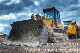 UNI EN 474-1:2019 | Macchine movimento terra