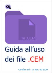 Guida all'uso dei file .CEM
